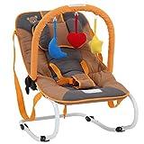 Infantastic® Babywippe - mit 3-Punkt-Sicherheitssystem, stabilem Metallrohr-Gestell,...