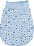 Schnizler Kleinkinder Strampelsack aus Baumwolle, praktischer Pucksack mit elastischem...