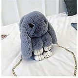 Gefüllte tier Rucksack Plüsch Tasche Spielzeug, niedlich Plüsch Kaninchen Rucksack 33 cm...