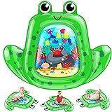 VATOS Baby Wassermatte Groß, Baby spielzeug 3 6 9 Monate, aufblasbare Wasserspielmatte ist...